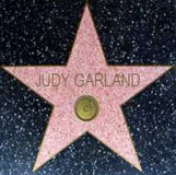 Judy Garland has two stars on the Hollywood Walk of Fame