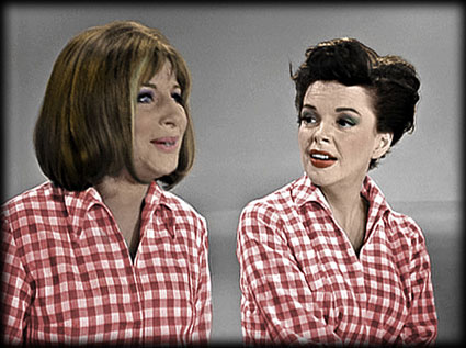 Judy Garland and Barbra Streisand on The Judy Garland Show