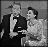 Judy Garland and Ray Bolger