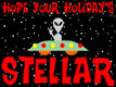 Hope Your Holidays Stellar