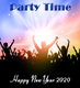 Party Time. Happy New Year 2018